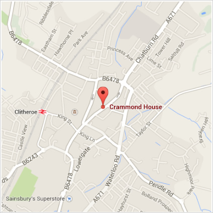 map to cramond house dental practice